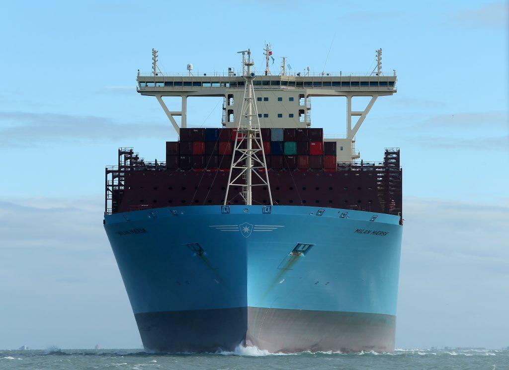Southampton Welcomes Milan Maersk