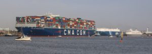 ABP Southampton welcomed the largest container ship yet