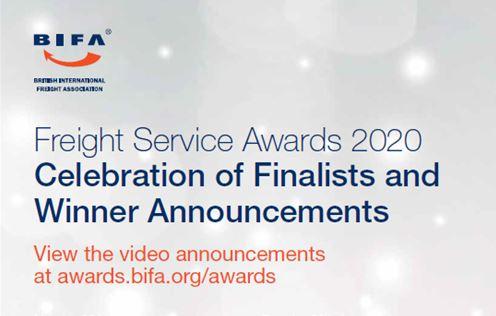BIFA Freight Service Awards 2020